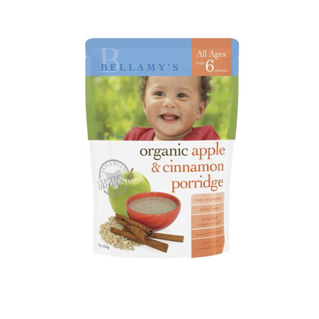 Bellamy's Apple and Cinnamon Baby Cereal Product Image