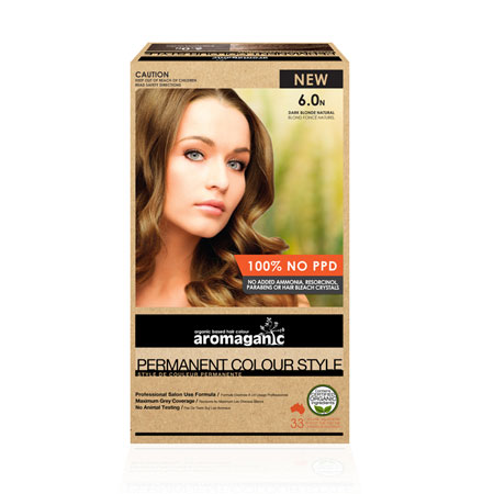 Aromaganic 6.0N Dark Blonde Natural Hair Colour Product Image