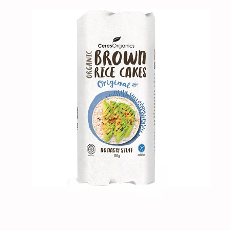 Ceres Organics Brown Rice Cakes Product Image