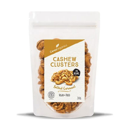 Ceres Organics Caramel Cashew Clusters Product Image