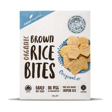 Ceres Sea Salt Rice Bites Product Image