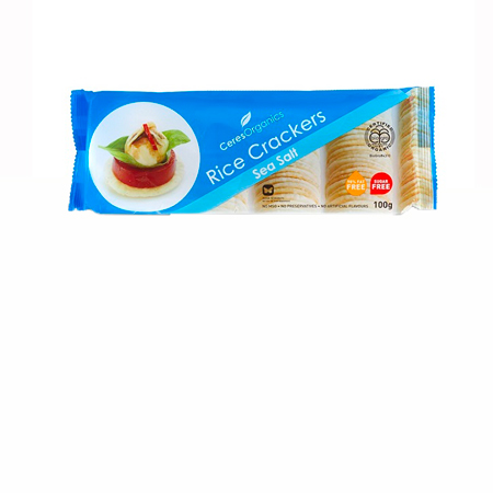 Ceres Sea Salt Rice Crackers Product Image