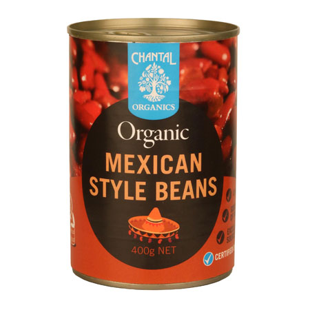 Chantal Organics Mexican-Style Beans Product Image