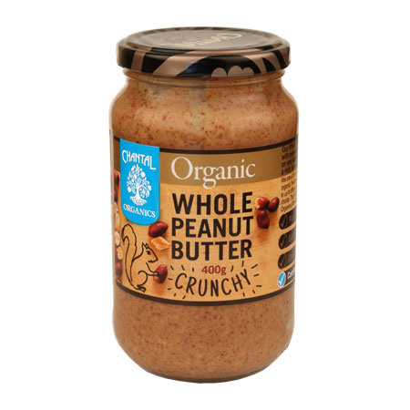 Chantal Organics Whole Crunchy Peanut Butter Product Image