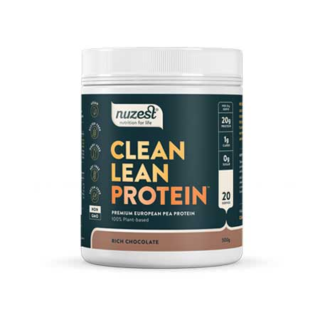 NuZest Clean Lean Chocolate Protein Product Image