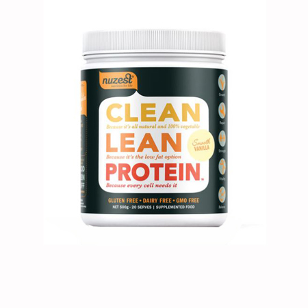 NuZest Clean Lean Vanilla Protein Product Image