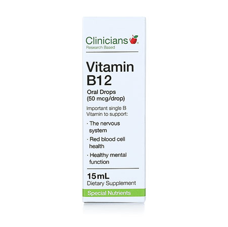 Clinicians Vitamin B12 Product Image