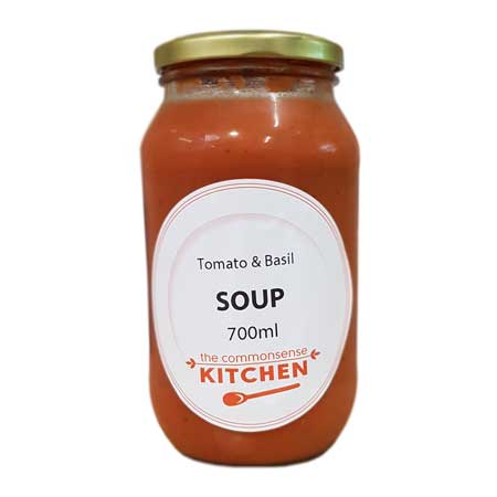 Commonsense Kitchen Tomato & Basil Soup Product Image
