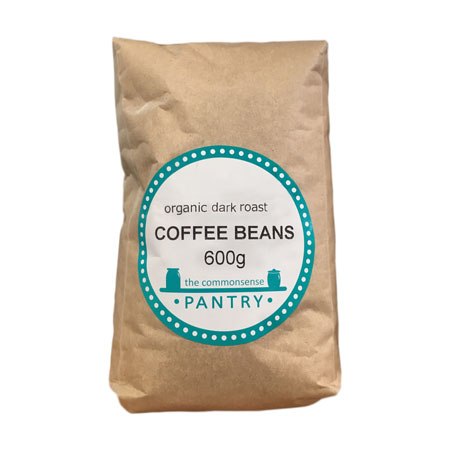 Commonsense Pantry Dark Coffee Beans Product Image