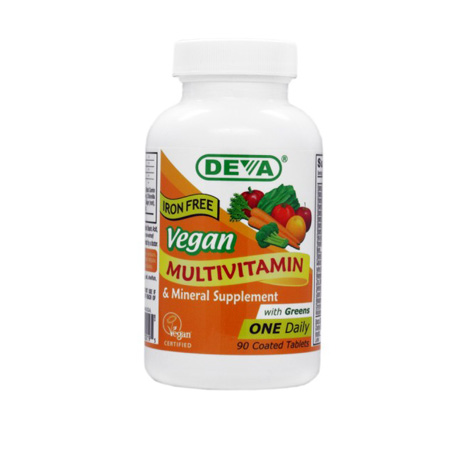 Deva Vegan One-A-Day Multi (Iron Free) Product Image