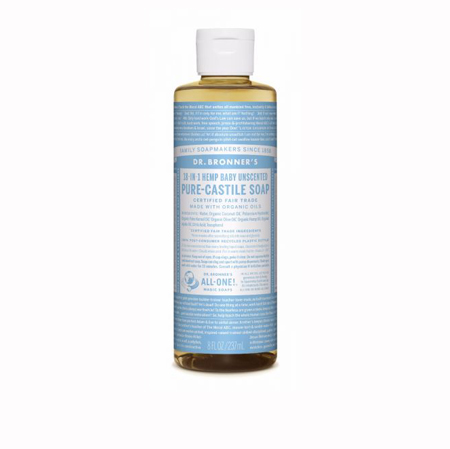 Dr Bronner's Liquid Baby Soap Product Image