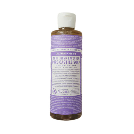 Dr Bronner's Lavender Liquid Soap Product Image
