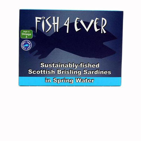 Fish 4 Ever Sardines in Spring Water Product Image