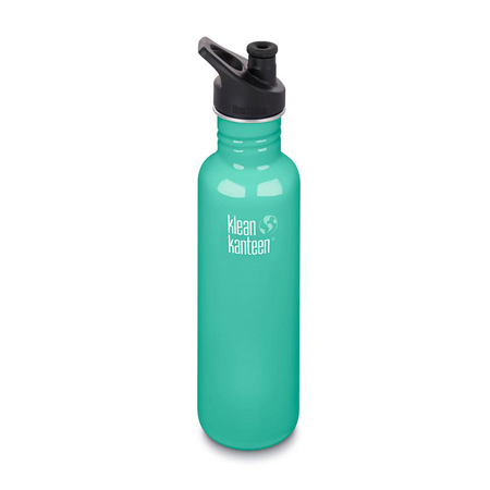 Klean Kanteen Water Bottle - Turquoise Product Image