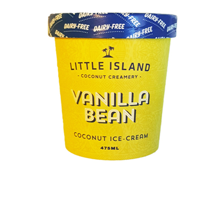 Little Island Vanilla Bean Ice Cream Product Image