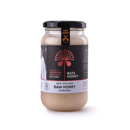 New Zealand Raw Honey Co Rata Honey Product Image