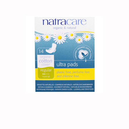 Natracare Ultra Pads with wings Product Image
