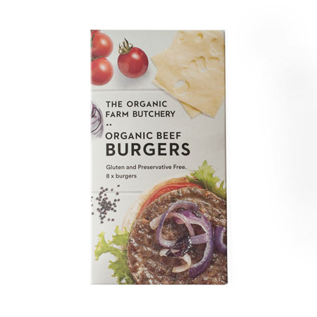 The Organic Farm Beef Hamburger Patties Product Image