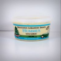 Delicious Lebanese Snack Garlic Hummus Product Image
