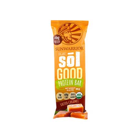Sun Warrior Salted Caramel Protein Bar Product Image
