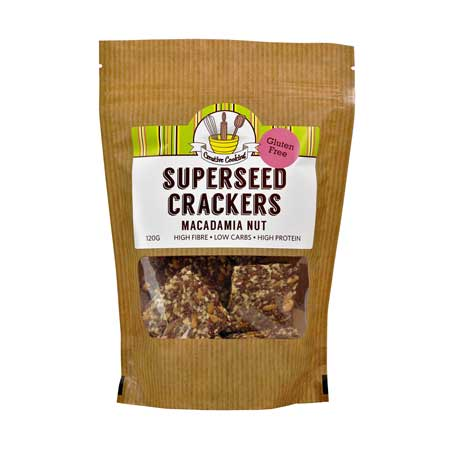 Superseed Macadamia Crackers Product Image