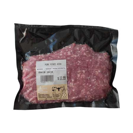 The Organic Farm Pork Mince Product Image