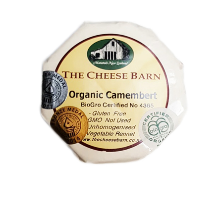 The Cheese Barn Organic Camembert Product Image