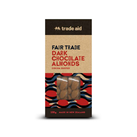 Trade Aid Dark Chocolate Almonds Product Image