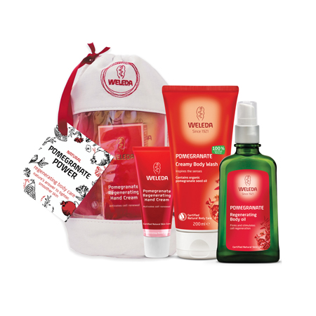 Weleda Pomegranate Power Body Care Pack Product Image