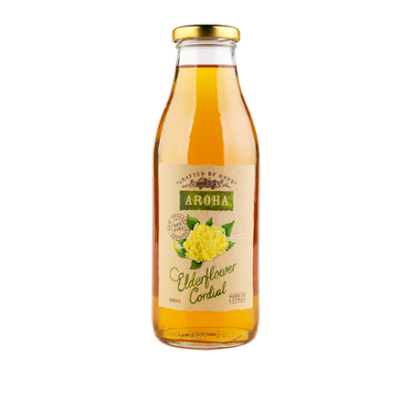 Aroha Elderflower Cordial Product Image