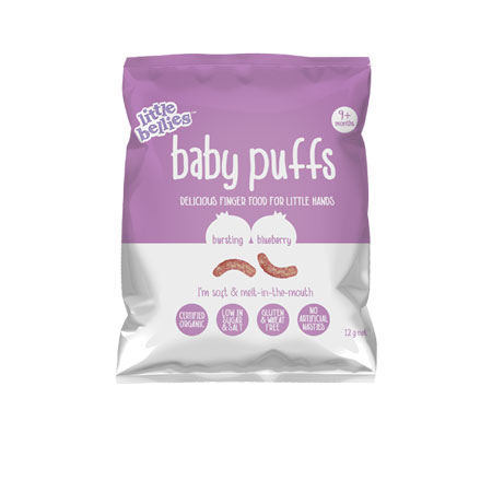 Little Bellies Baby Puffs - Blueberry Product Image