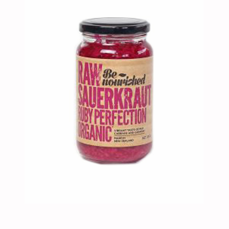 Be Nourished Ruby Perfection Raw Sauerkraut Product Image