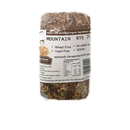 Breadman Mountain Rye Bread Product Image