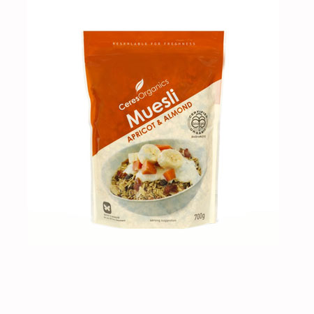 Ceres Apricot Almond Muesli Product Image