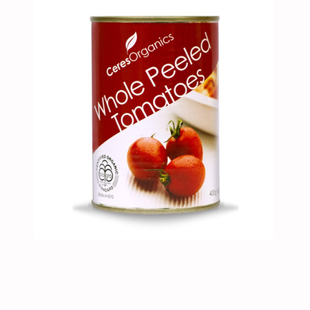 Ceres Organics Whole Peeled Tomatoes Product Image
