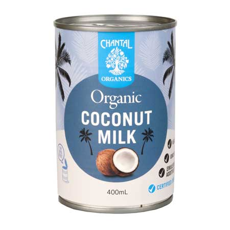 Chantal Organics Coconut Milk Product Image