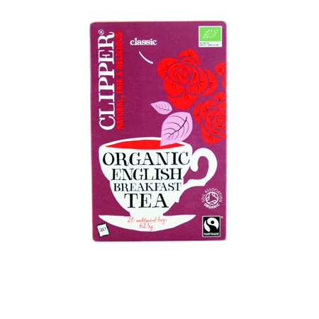 Clipper English Breakfast Tea Product Image