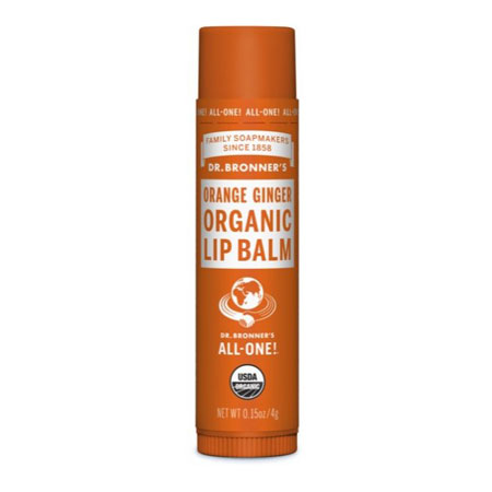 Dr Bronners Lip Balm Orange/Ginger Product Image