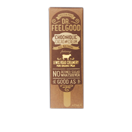 Dr Feelgood Chocoholic Frozen Pop Product Image