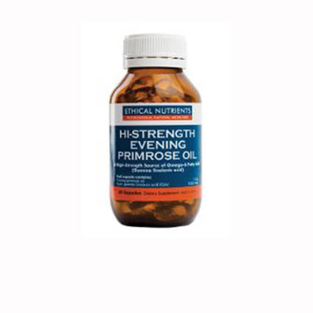 Ethical Nutrients Hi-Strength Evening Primrose Oil Product Image