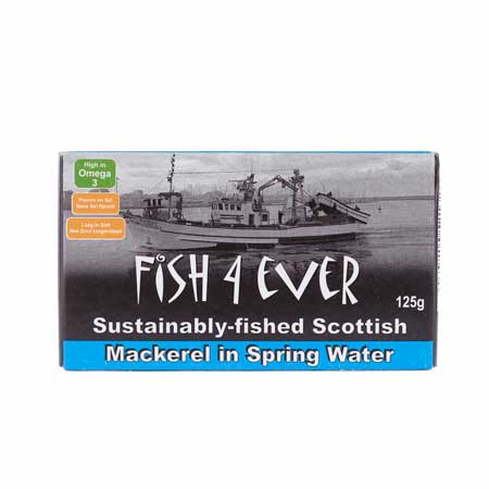 Fish 4 Ever Mackerel in Spring Water Product Image