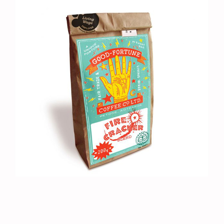 Good Fortune Co. Fire Cracker Coffee Beans Product Image