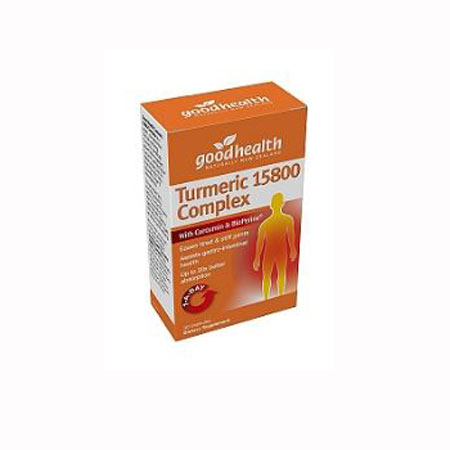 Good Health Turmeric 15800 Complex Product Image