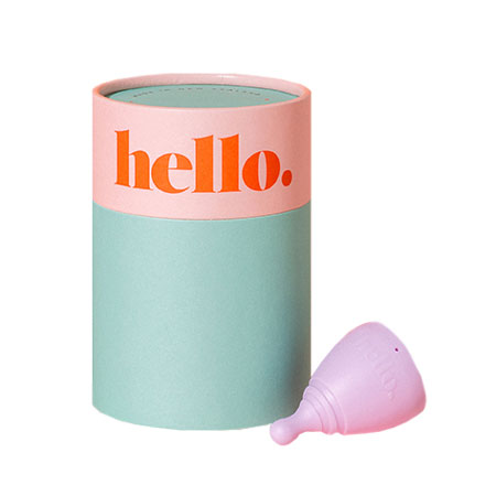 The Hello Cup Menstrual Cup Size XS Product Image