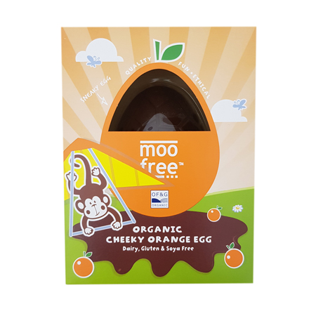 Moo Free Cheeky Orange Egg Product Image