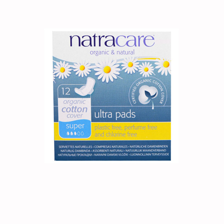 Natracare Ultra Super Menstrual Pads with wings Product Image