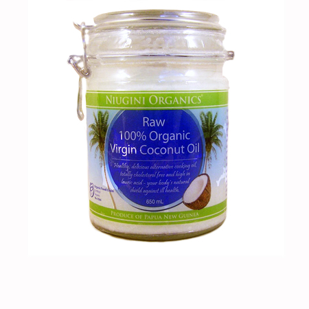 Niugini Organics Raw Virgin Coconut Oil Product Image