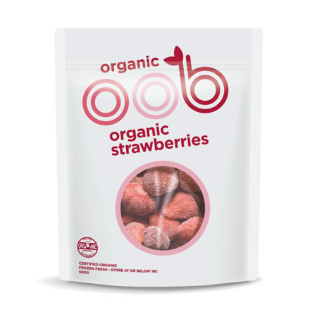 OOB Frozen Strawberries Product Image