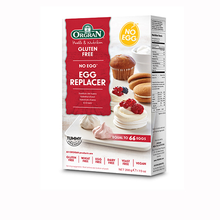 Orgran No Egg Natural Egg Replacer Product Image