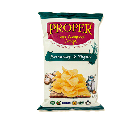 Proper Crisps - Rosemary & Thyme Potato Chips Product Image